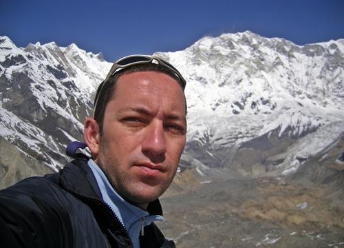 Alpinistul Horia Calibasanu