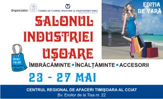 CCIAT Salonul Industriei Usoare 23 - 27 mai 2018